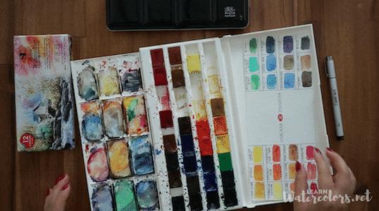 Choose your watercolor set
