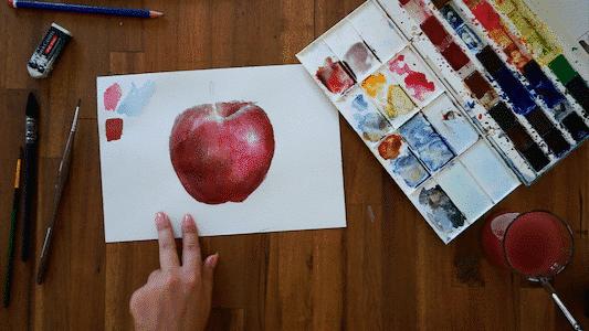 Exercise: three-dimensional apple