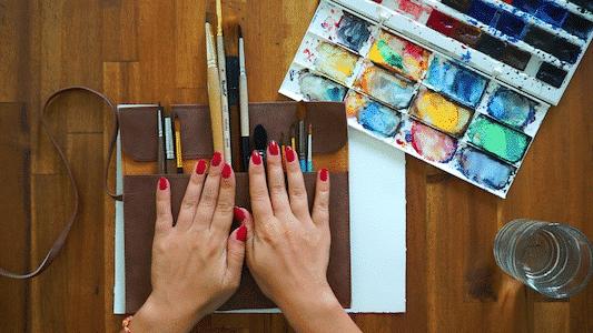 Choose your perfect watercolor brush